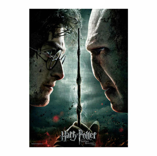 Harry Potter Jigsaw Puzzle Harry vs Voldemort (Deathly Hallows Part 2)