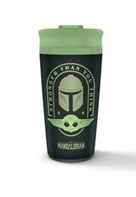 Star Wars The Mandalorian Travel Mug  Stronger Than You Think
