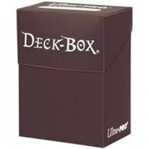 Brown Deck Box Single Unit