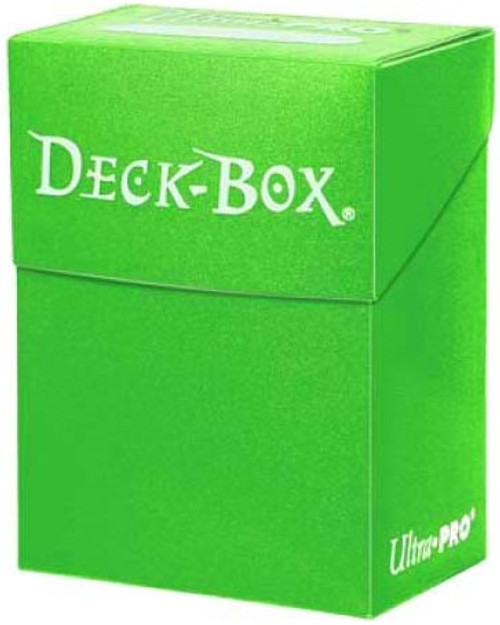 Light Green Deck Box Single Unit