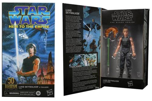 "Star Wars Black Series 6"" Luke Skywalker (Comic) Action Figure"