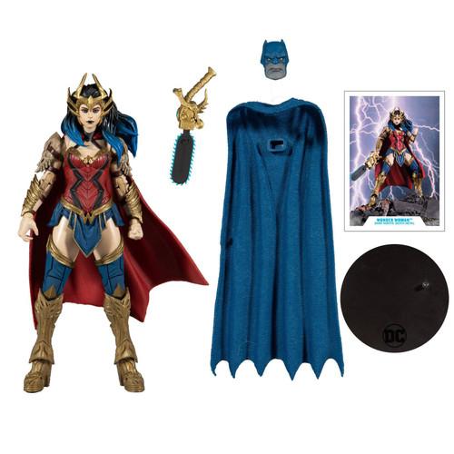 """DC Multiverse 7"""" Scale Build-A Wv4 Dm Wonder Woman Action Figure"""