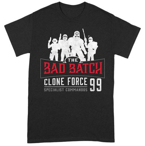 Star Wars - The Bad Batch Clone Force 99 T-Shirt - L