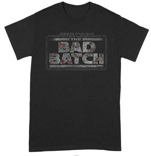 Star Wars - The Bad Batch Logo T-Shirt - L