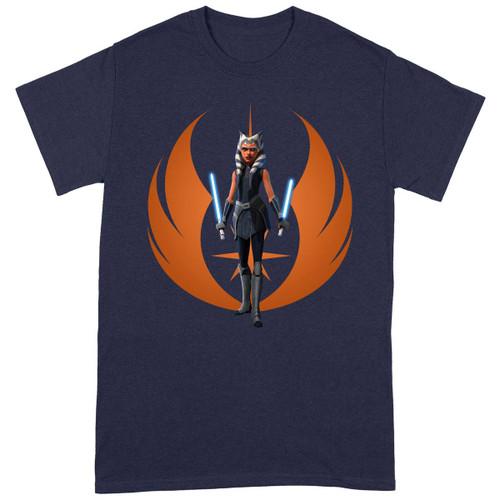 Star Wars - The Clone Wars Ahsoka Rebel Pose T-Shirt XL
