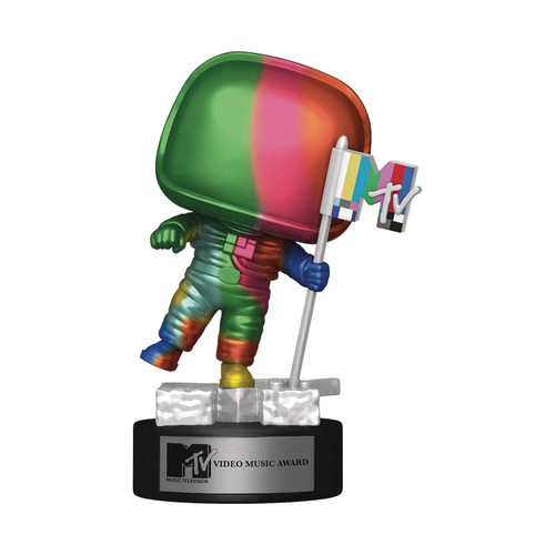 Funko POP! Vinyl: Mtv - Moon Person(Rainbow) #18
