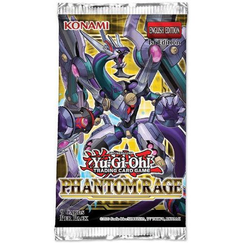 Yu-Gi-Oh! TCG Phantom Rage Booster