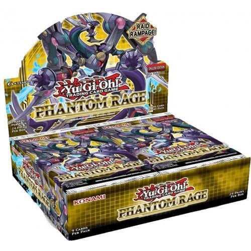 Yu-Gi-Oh! TCG Phantom Rage Booster (Full box-24 Boosters)