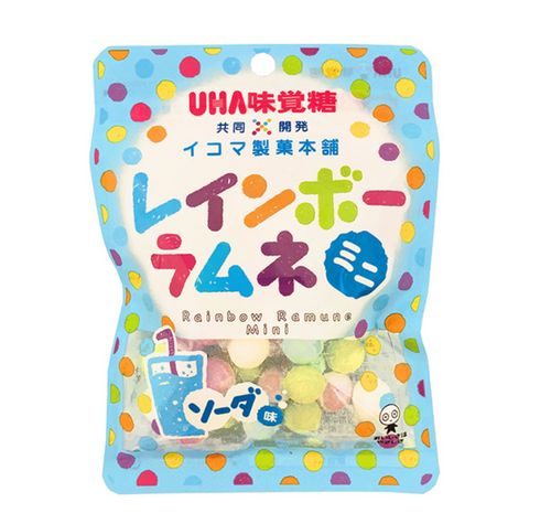 Rainbow Ramune Tablet Candy Soda Flavour 40g