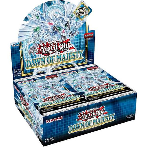 Yu-Gi-Oh! TCG: Dawn of Majesty Booster (Box of 24 Boosters)