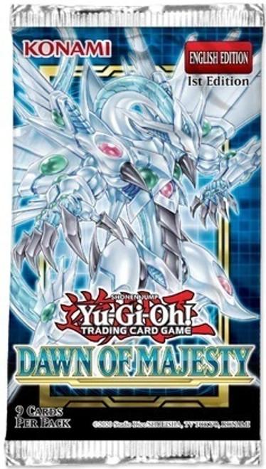 Yu-Gi-Oh! TCG: Dawn of Majesty Booster