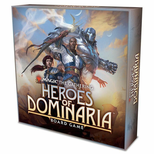 Magic The Gathering: Heroes Of Dominaria Board Game Std Ed