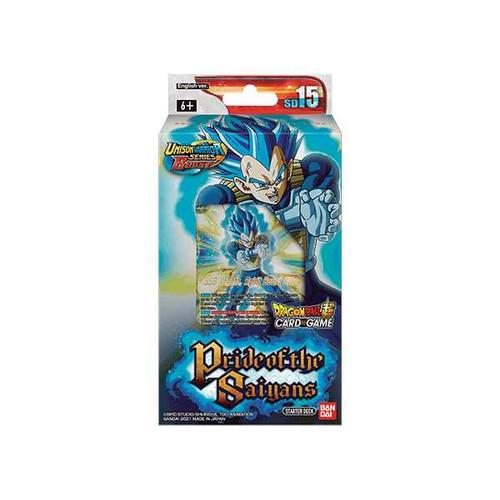Dragon Ball Super CG: Pride of the Saiyans Starter Deck SD15
