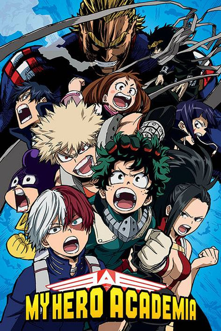 My Hero Academia Cobalt Blast Group Poster