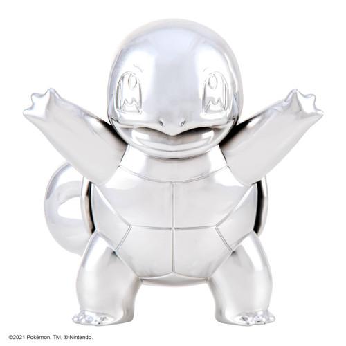"Pokemon 3"" Silver Squirtle Vinyl Figure"