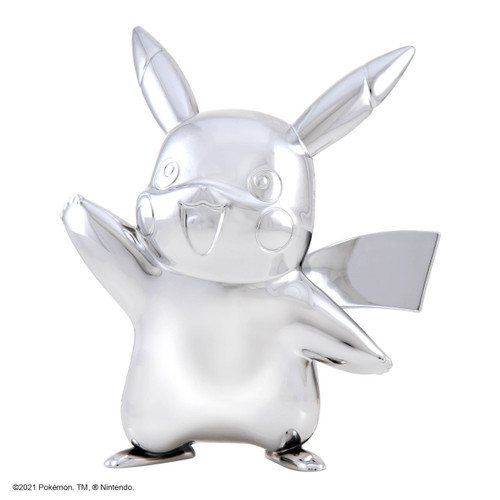 "Pokemon 3"" Silver Pikachu Vinyl Figure"
