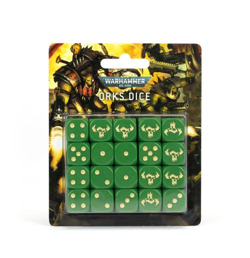 Warhammer 40000: Orks Dice