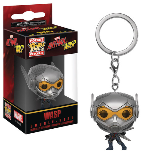 Pocket Pop Ant-Man & Wasp Wasp Keychain