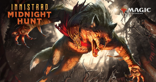17/09/21 @ 6:00pm - MTG Tournament Entry: Innistrad - Midnight Hunt Prerelease - Sealed (Event code QWYRED)