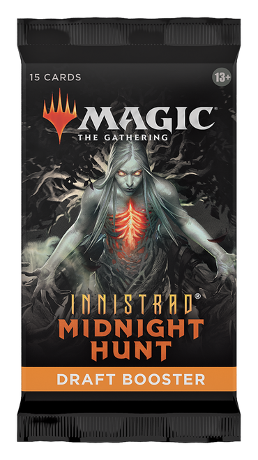 MTG: Innistrad - Midnight Hunt Draft Booster (Preorder-Out 24/09/2021)