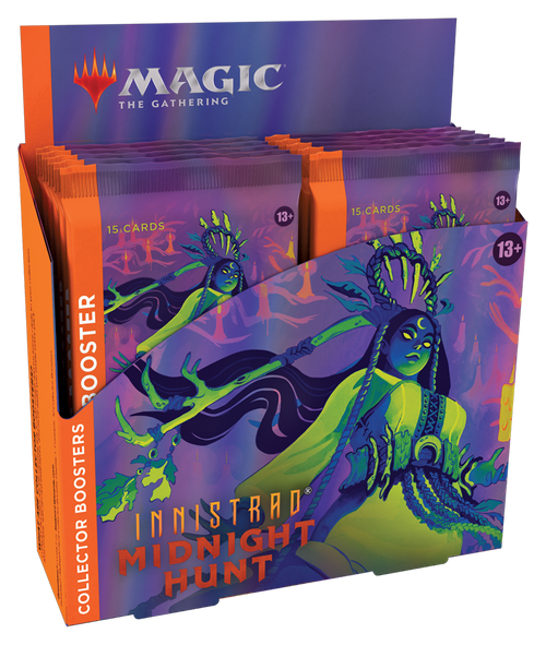 MTG: Innistrad Midnight Hunt Collector Booster-Full box of 12 boosters (Pre-order-Out 24/09/2021)