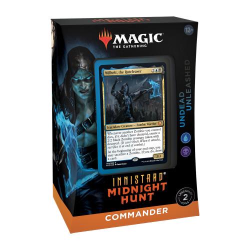 MTG: Innistrad Midnight Hunt Commander Deck-Undead Unleashed (Pre-Order-Out 24/09/2021)