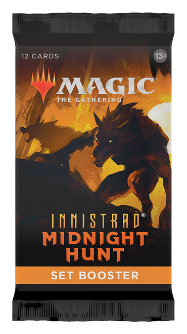MTG: Innistrad Midnight Hunt Set Booster (Pre-order-Out 24/09/2021)