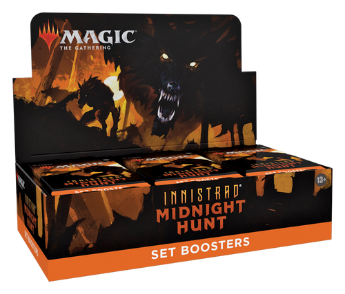 MTG: Innistrad Midnight Hunt Set Booster-Full box of 30 boosters (Pre-order-Out 17/09/2021)