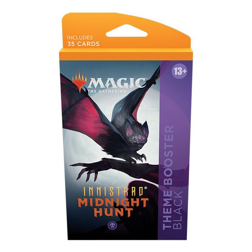 MTG: Innistrad Midnight Hunt Theme Booster-Black (Pre-Order-Out 24/09/2021)