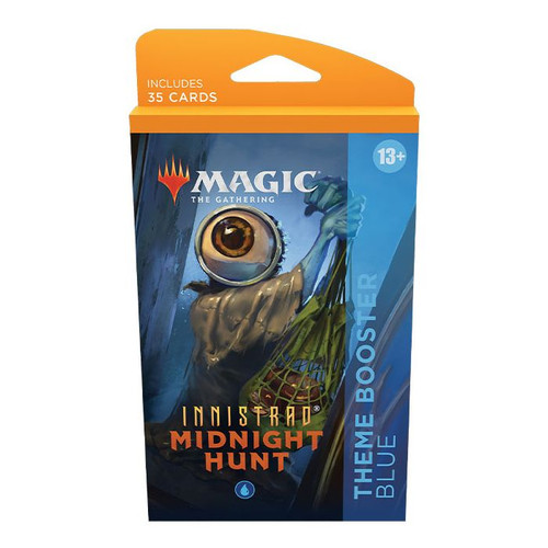 MTG: Innistrad Midnight Hunt Theme Booster-Blue (Pre-Order-Out 24/09/2021)