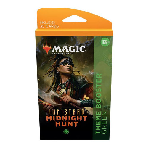 MTG: Innistrad Midnight Hunt Theme Booster-Green (Pre-Order-Out 24/09/2021)