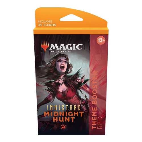 MTG: Innistrad Midnight Hunt Theme Booster-Red (Pre-Order-Out 24/09/2021)