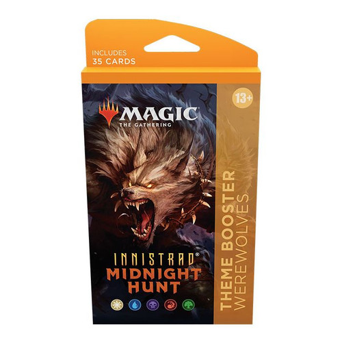 MTG: Innistrad Midnight Hunt Theme Booster-Werewolves (Pre-Order-Out24/09/2021)