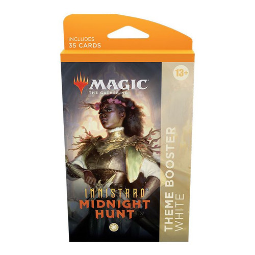 MTG: Innistrad Midnight Hunt Theme Booster-White (Pre-Order-Out 24/09/2021)