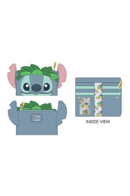 Disney by Loungefly Flap Purse Lilo & Stitch Luau Cosplay
