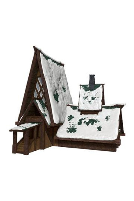 D&D Icons of the Realms Icewind Dale: Rime of the Frostmaiden Papercraft Set The Lodge