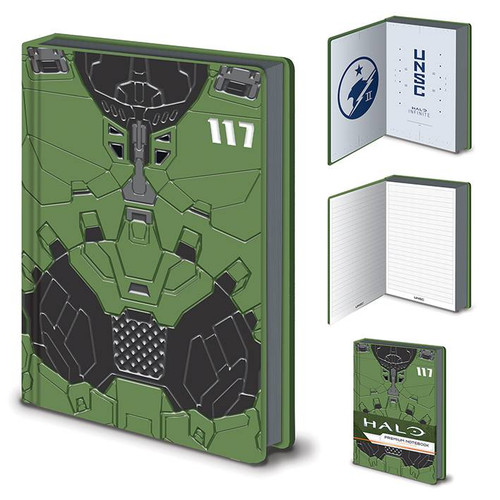 Halo Master Chief A5 Premium Notebook