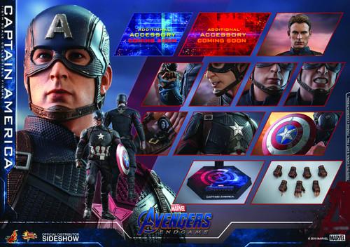 Hot Toys Endgame Captain America 1/6 Scale Figure