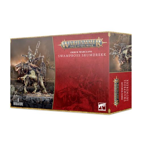 Orruk Warclans: Swampboss Skumdrekk (Pre-order-Out 25/09/2021)