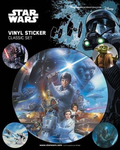 STAR WARS (CLASSIC) STICKERS