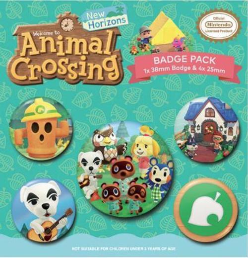 ANIMAL CROSSING (ISLANDER) BADGE PACK