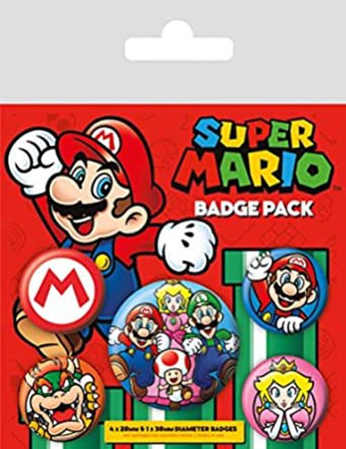 SUPER MARIO (MARIO) BADGE PACK