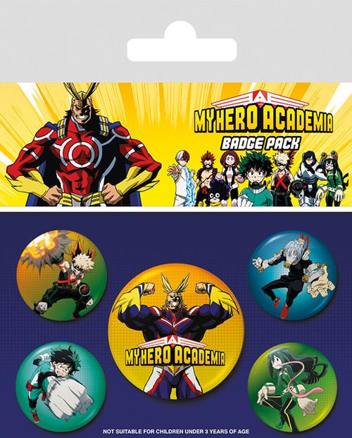 My Hero Academia (Characters)  Badge Pack