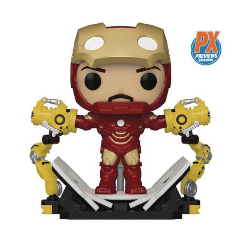 Funko POP! Vinyl: Iron Man 2 - Iron Man MKIV With Gantry Exclusive #905