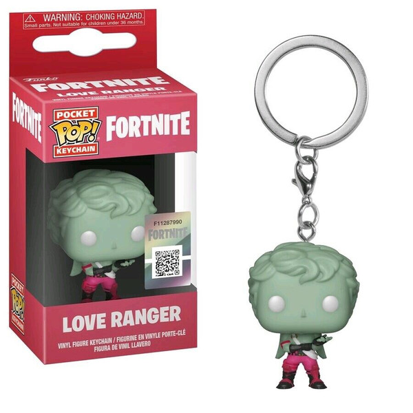 Pocket Pop Fortnite: Love Ranger Keychain