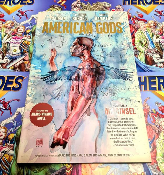 American Gods HC Vol 2 Signed By Glenn Fabry