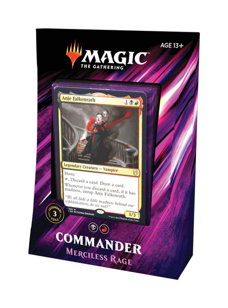 MTG: Commander 2019 Merciless Rage