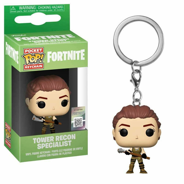 Pocket Pop Fortnite: Tower Recon Specialist Keychain