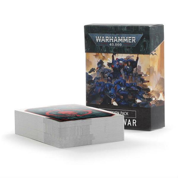 Warhammer 40000: Open War Cards - Mission Pack