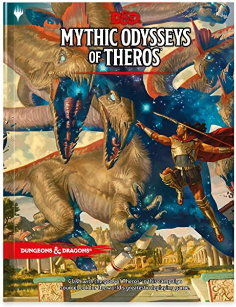 Mythic Odysseys of Theros: Dungeons & Dragons